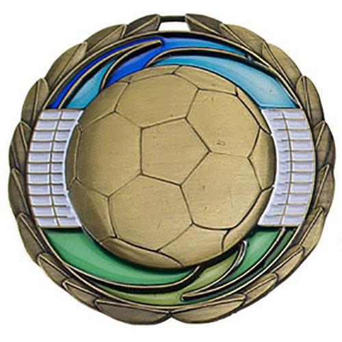 SAY Soccer Ball Theme Medal
