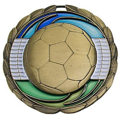 SAY Soccer Ball Theme Medal