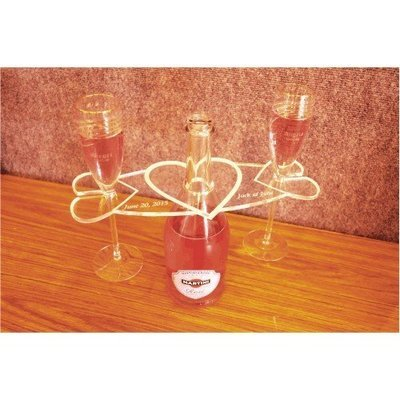 Toasting Glass Display Holder