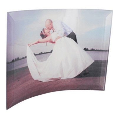 Curved Photo Glass Print