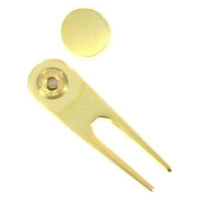 Gold Divot Ball Marker
