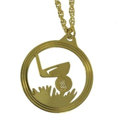 Golf Charm Necklace