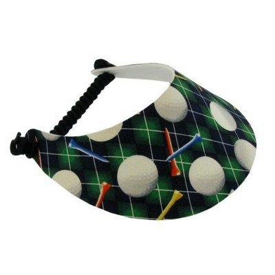 Black Golf Visor