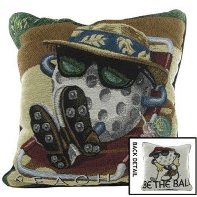 Golf Throw Pillow