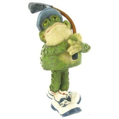 Bobble Head Frog Golfer
