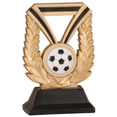 SAY Soccer Sculpture with Gold Wreath