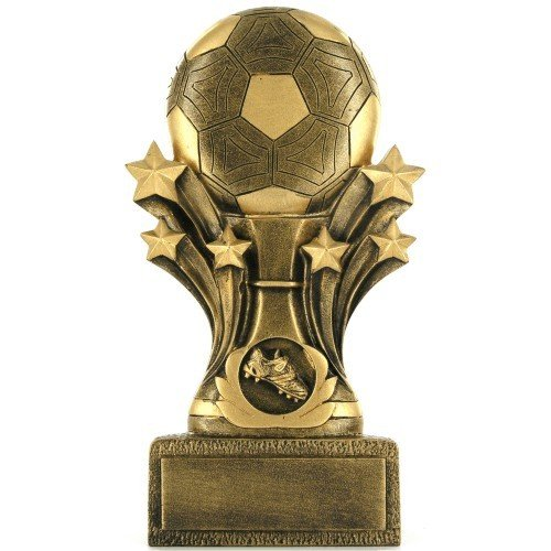 SAY Soccer Sculpture Gold Star Theme
