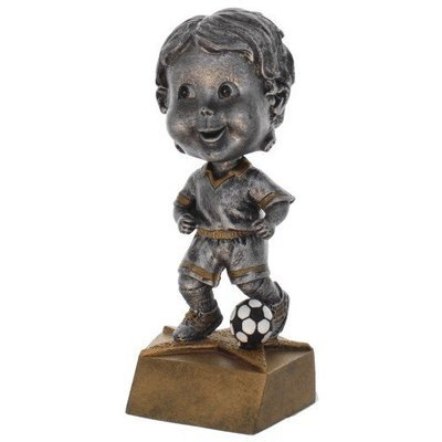 SAY Soccer Male Bobble Head Sculpture