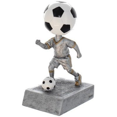 SAY Soccer Bobble Head Sculpture