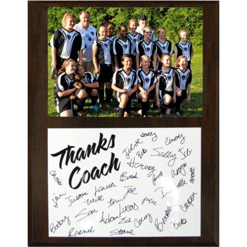 SAY Soccer Coach Plaque