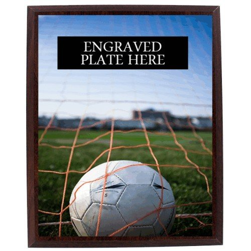 SAY Ball Sitting in Goal Design Plaque