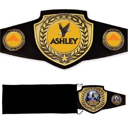 Antique Shield Championship Belt