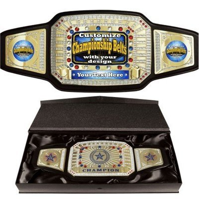 Ultimate Championship Belt Trophy