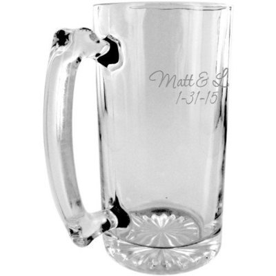 Personalized 34 oz. Beer Mug