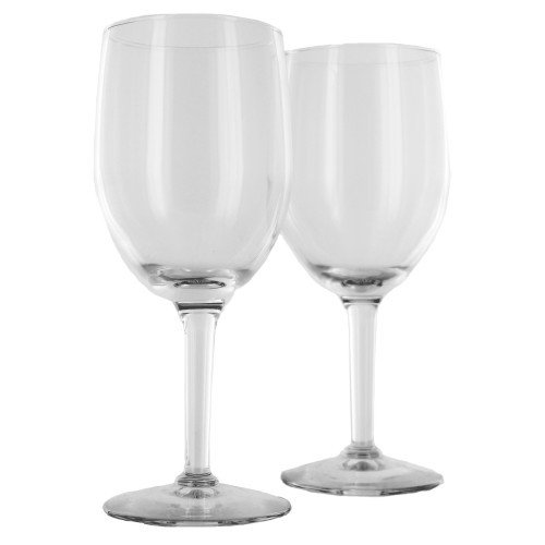 Set of Two Customized Wine Glasses