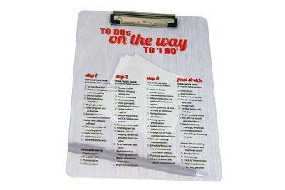 Wedding Checklist Clip Board