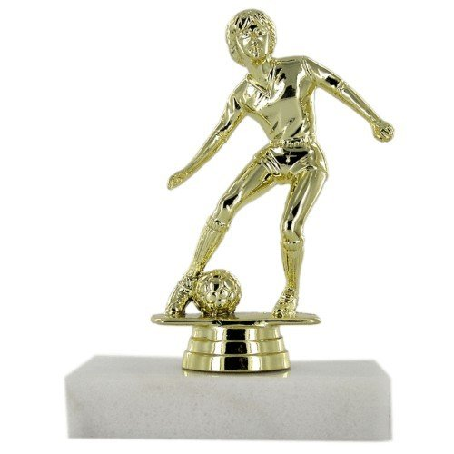 SAY Soccer Trophy with Female Dribbler Figure