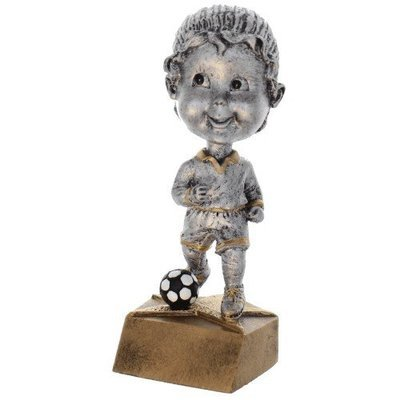 SAY Soccer Female Bobble Head Sculpture