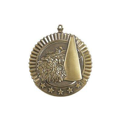 """2.75"""" Cheerleading Medal"""