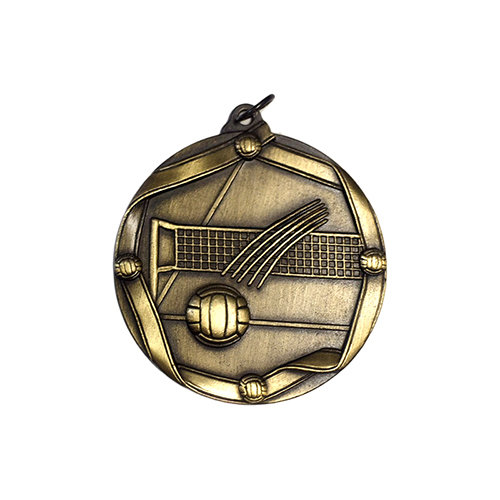 """2.25"""" Volleyball Medal"""