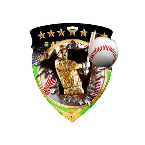 "3"" Baseball Shield Medal *Limited Quantities*"