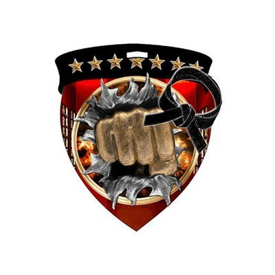 """3"""" Martial Arts Shield Medal *Limited Quantities*"""