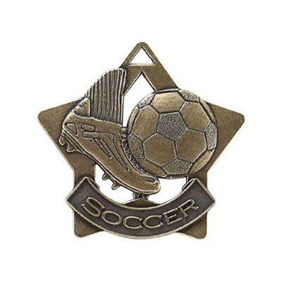 """2.25"""" Soccer Medal"""