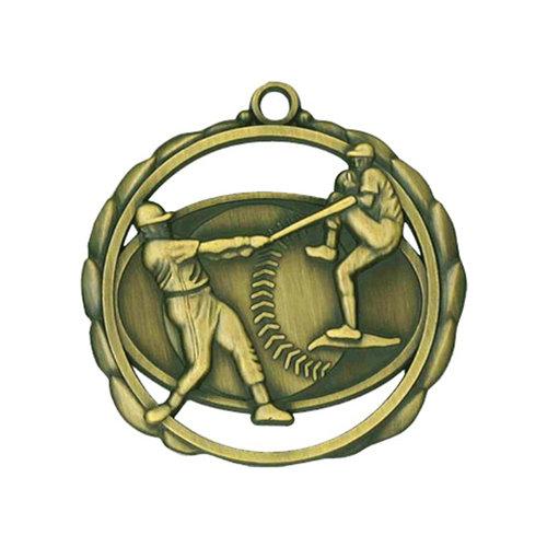 """2.375"""" Baseball Medal"""