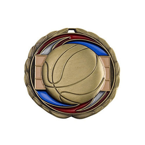 "2.5"" Basketball Medal"