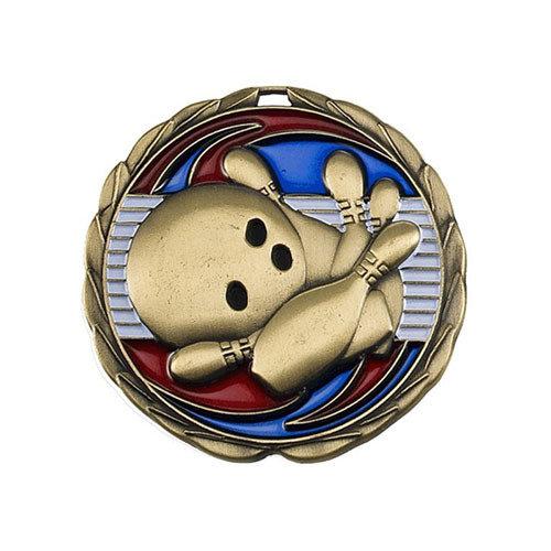 "2.5"" Bowling Medal"