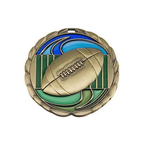 """2.5"""" Football Medal"""