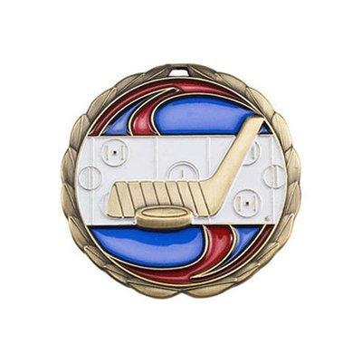 """2.5"""" Hockey Medal"""