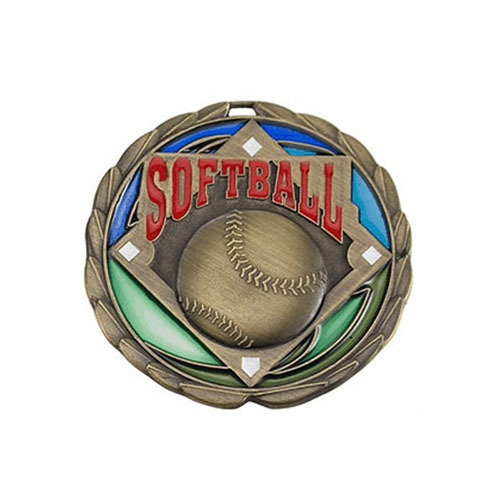 "2.5"" Softball Medal"
