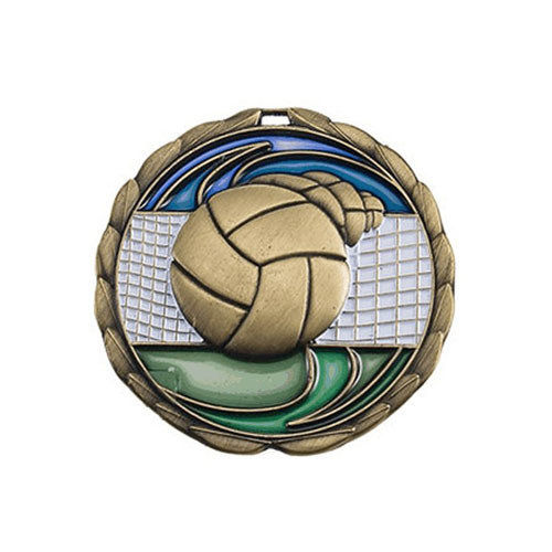 """2.5"""" Volleyball Medal"""