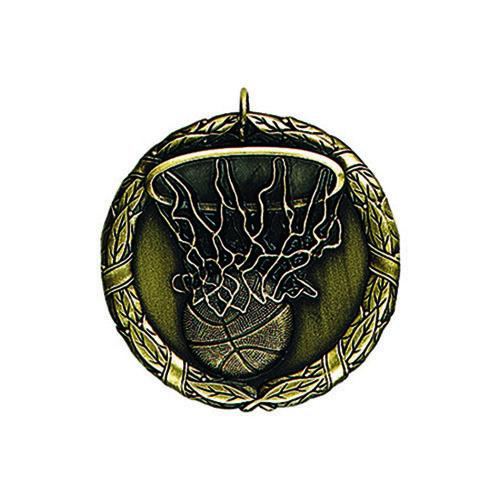 "1.25"" or 2"" Basketball Medal"