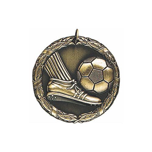 """1.25"""" or 2"""" Soccer Medal"""