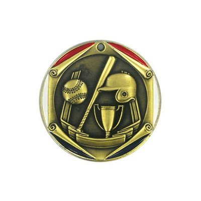 """2"""" Baseball Medal"""