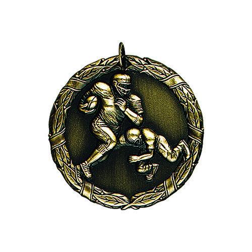 """2"""" Football Medal"""