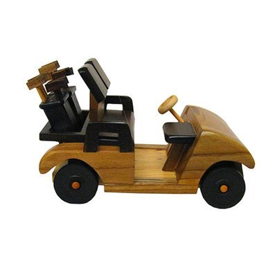 Wooden Golf Cart