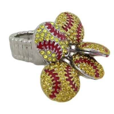 Bling Flower Ring