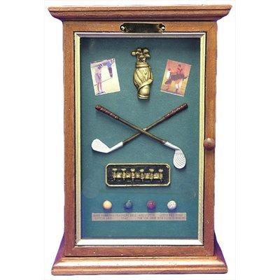 CD Golf Shadow Box Holder