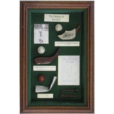 Golf History Shadow Box