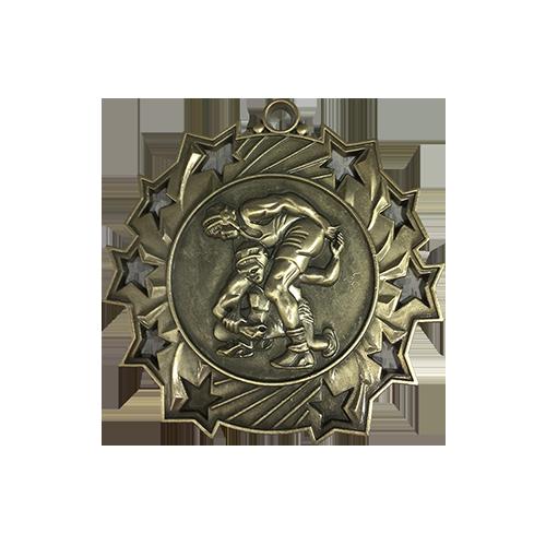 "2.5"" Wrestling Medal"