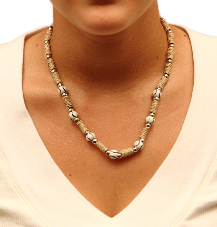 Beaded Hemp Necklace