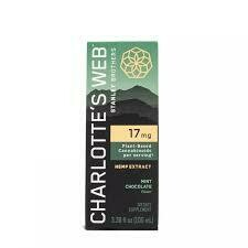 CHARLOTTE'S WEB mint chocolate 100ml - 17mg/ml