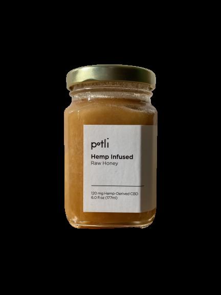 POTLI infused honey - 120mg