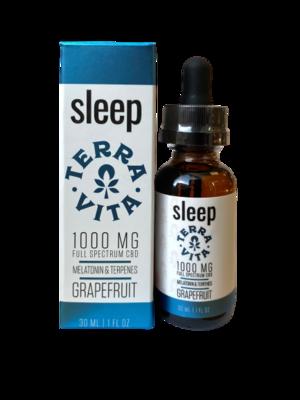 TERRAVITA sleep tincture - 1000mg