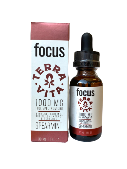 TERRAVITA focus tincture - 1000mg