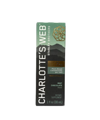 CHARLOTTE'S WEB mint chocolate 30ml - 7mg/ml