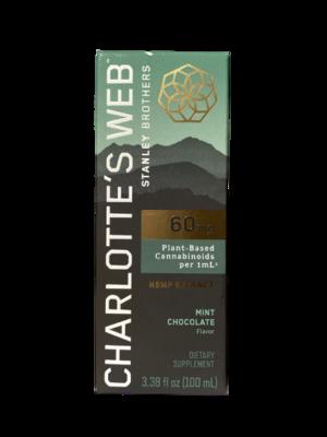 CHARLOTTE'S WEB mint chocolate 100ml - 60mg/ml